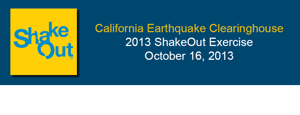 ShakeOut 2013: How to Participate
