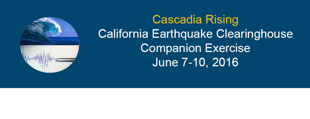 2016 Cascadia Rising Companion Exercise